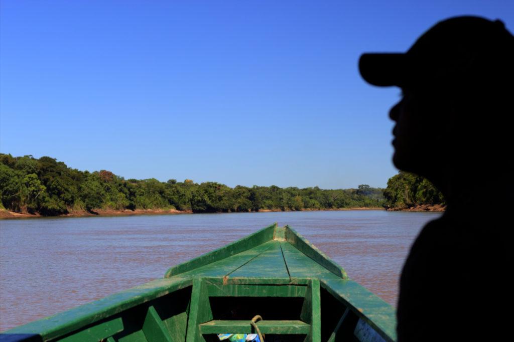 Remontée du Rio Tambopata, Amazonie, Pérou
