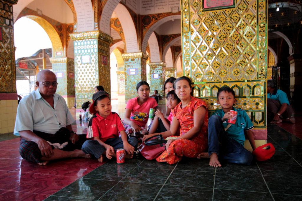 Pagode Sutaungpyai, Mandalay, Birmanie Myanmar