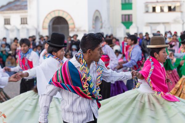 Danses pour la fête de Copacabana, Bolivie