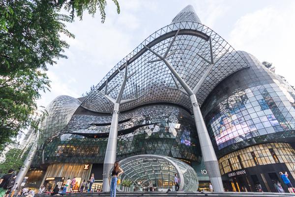 Centre commercial à Singapour