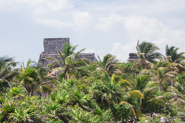 Ruines mayas de Tulum, Yucatan, Mexique