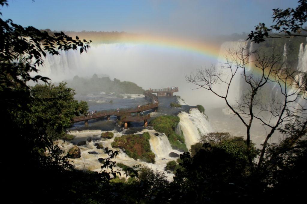 Chutes d'Iguazu côté Bésil
