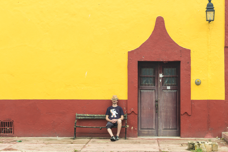 Architecture de Valladolid, Yucatan, Mexique