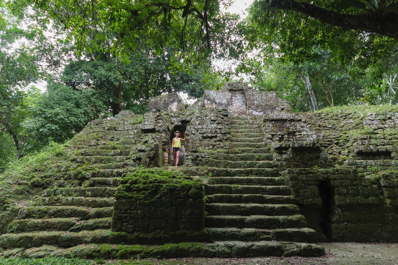Pyramide de Tikal, Guatemala