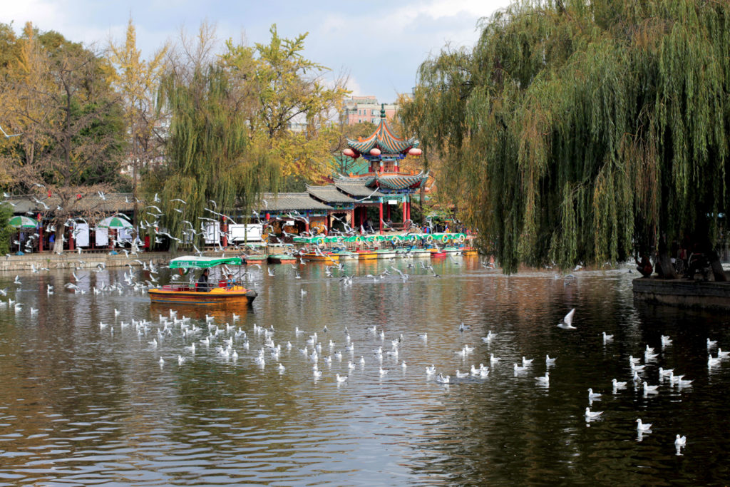 Lac d'Emeraude à Kunming, Yunnan, Chine