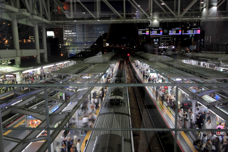 Gare d'Osaka, Japon