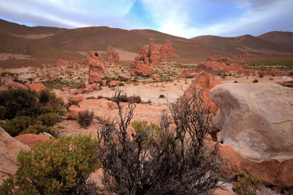 Paysage désertique du Sud Lipez, Bolivie