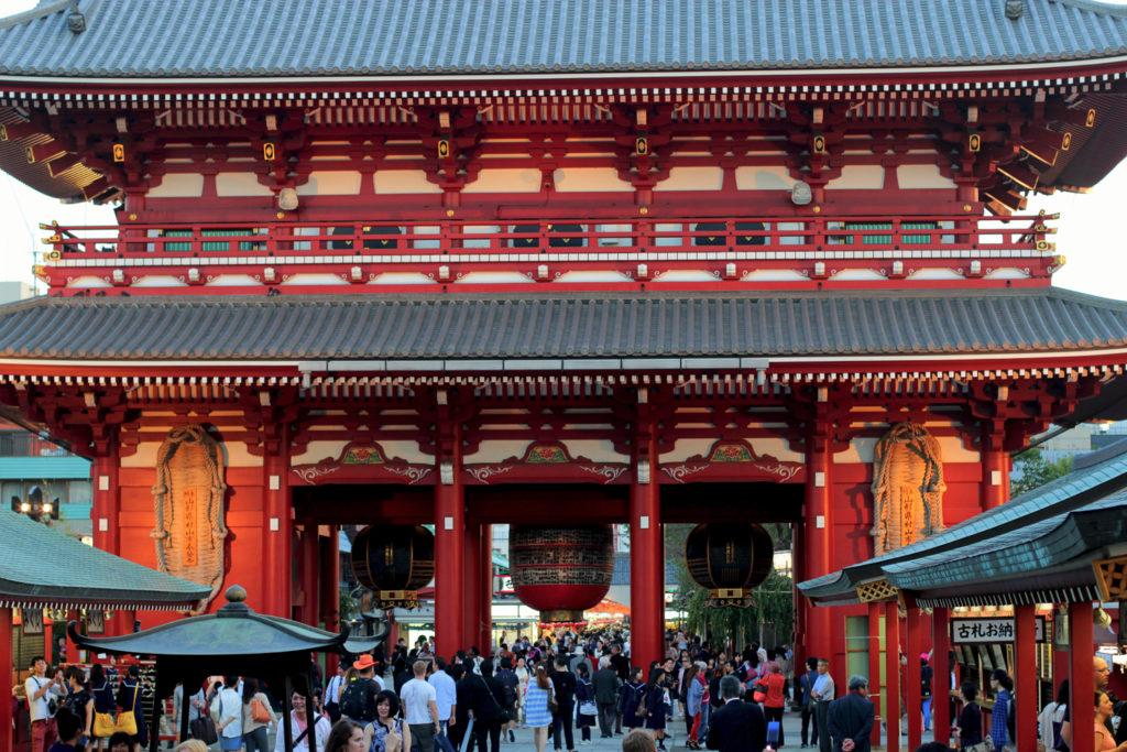 Temple Senso-Ji, Asakusa, Tokyo, Japon