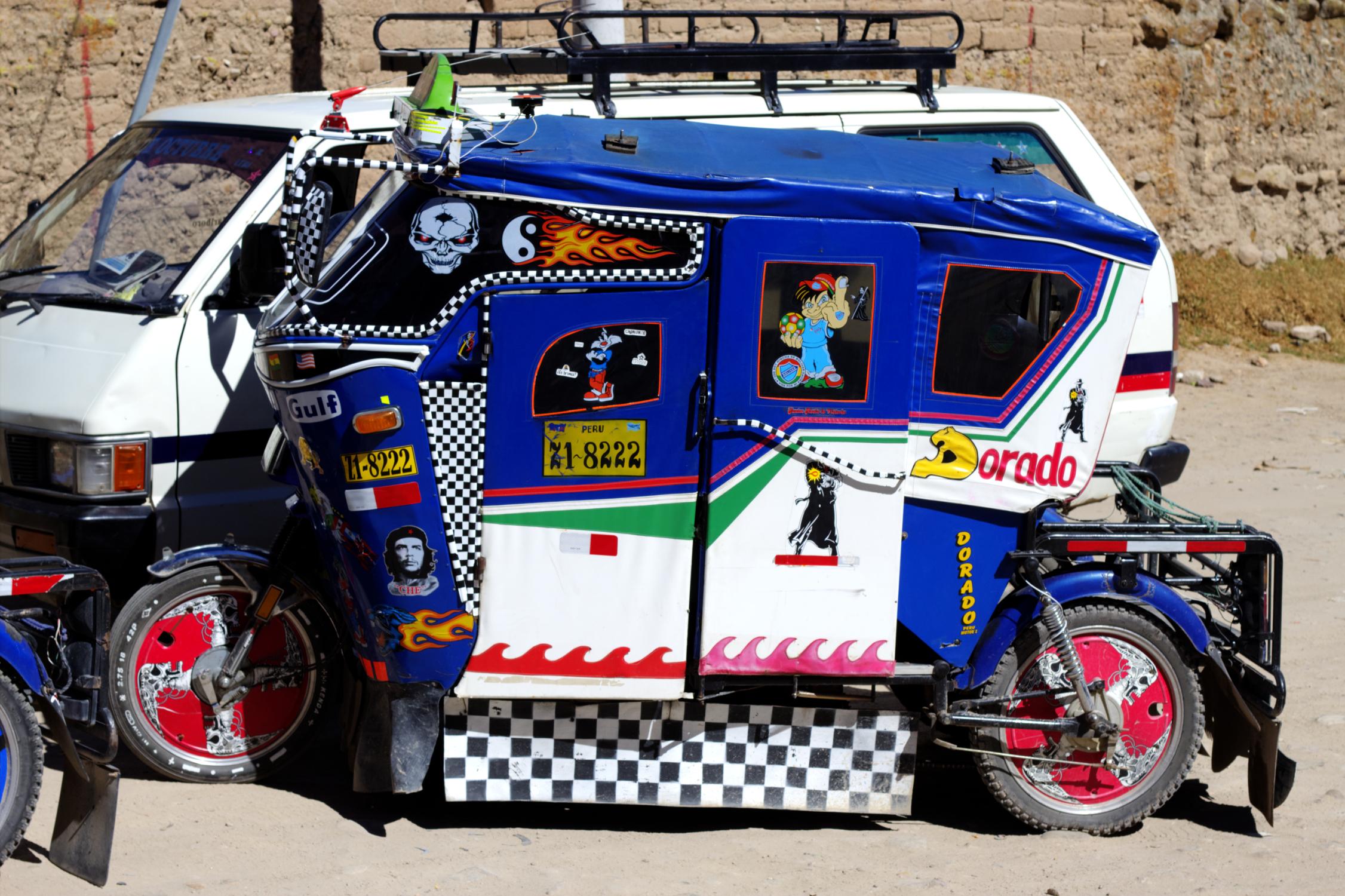 Moto-taxi, Pérou