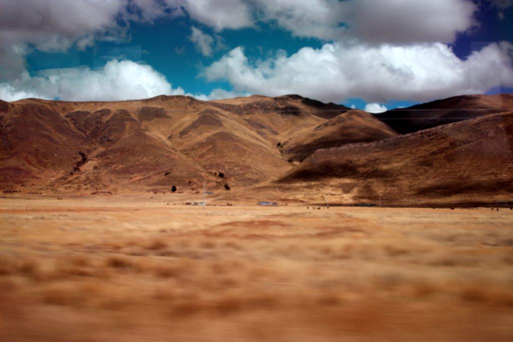 Sur la route Puno Cusco, Pérou