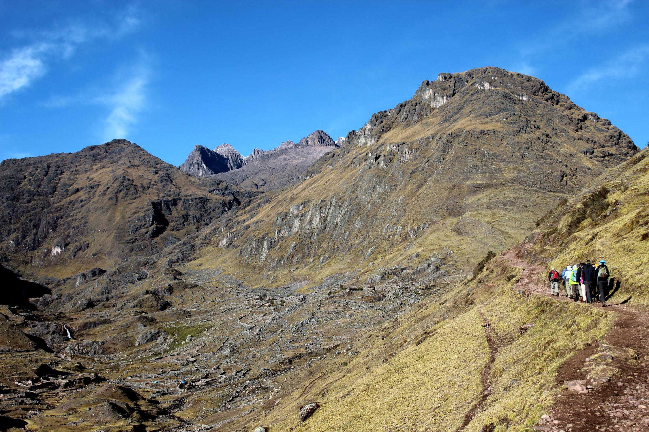 Trek dans la vallée de Lares, Pérou