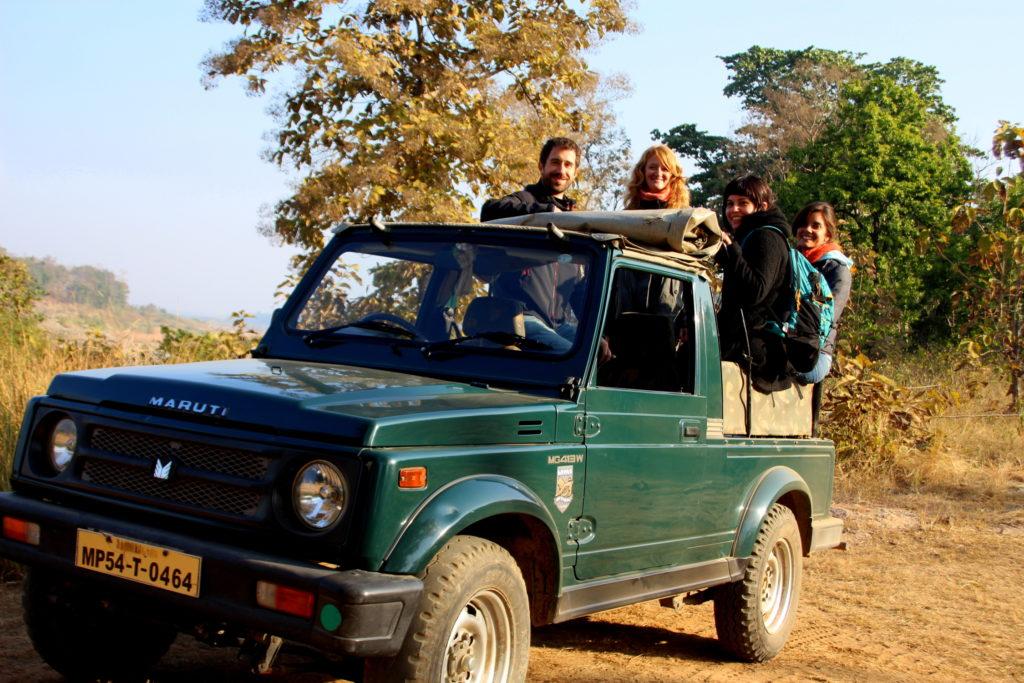 Safari dans la jungle de Panna vers Khajuraho, Inde