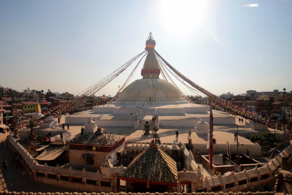 Stuppa du Bouddhanath, Kathmandu, Népal