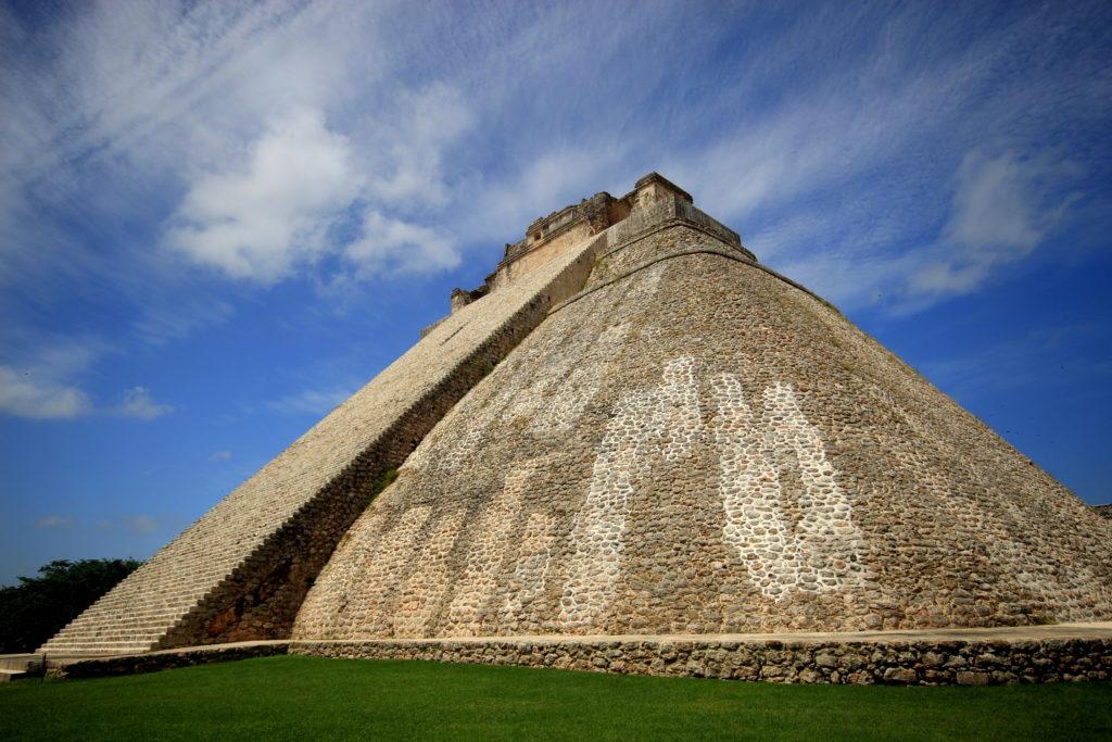 Pyramide maya d'Uxmal, Yucatan, Mexique