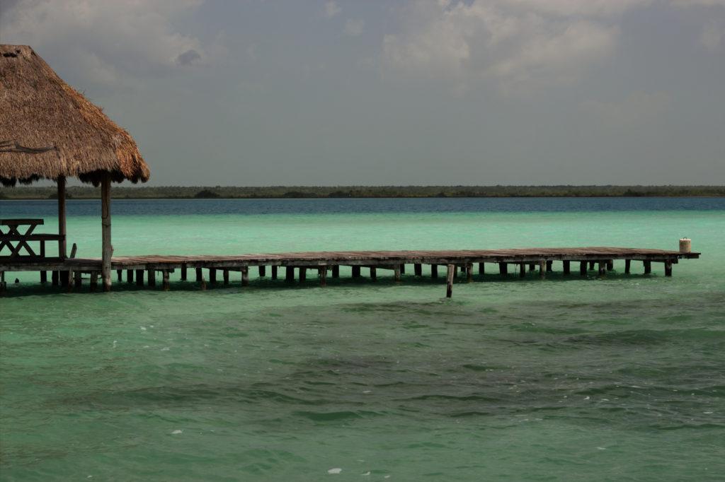 Laguna de Bacalar, Yucatan, Mexique