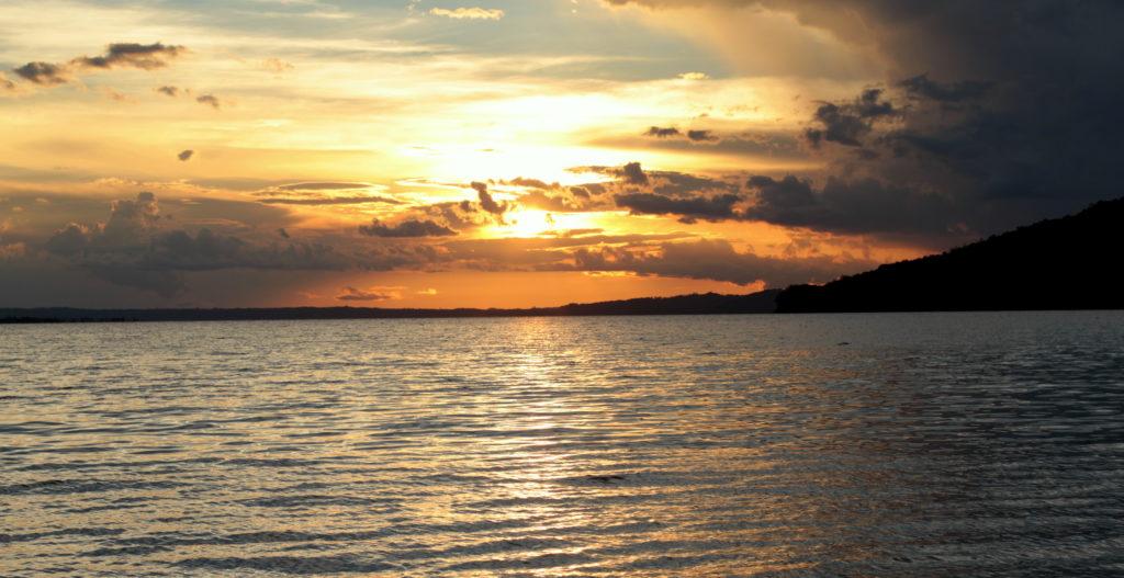 Lac de Peten Itza, Guatemala
