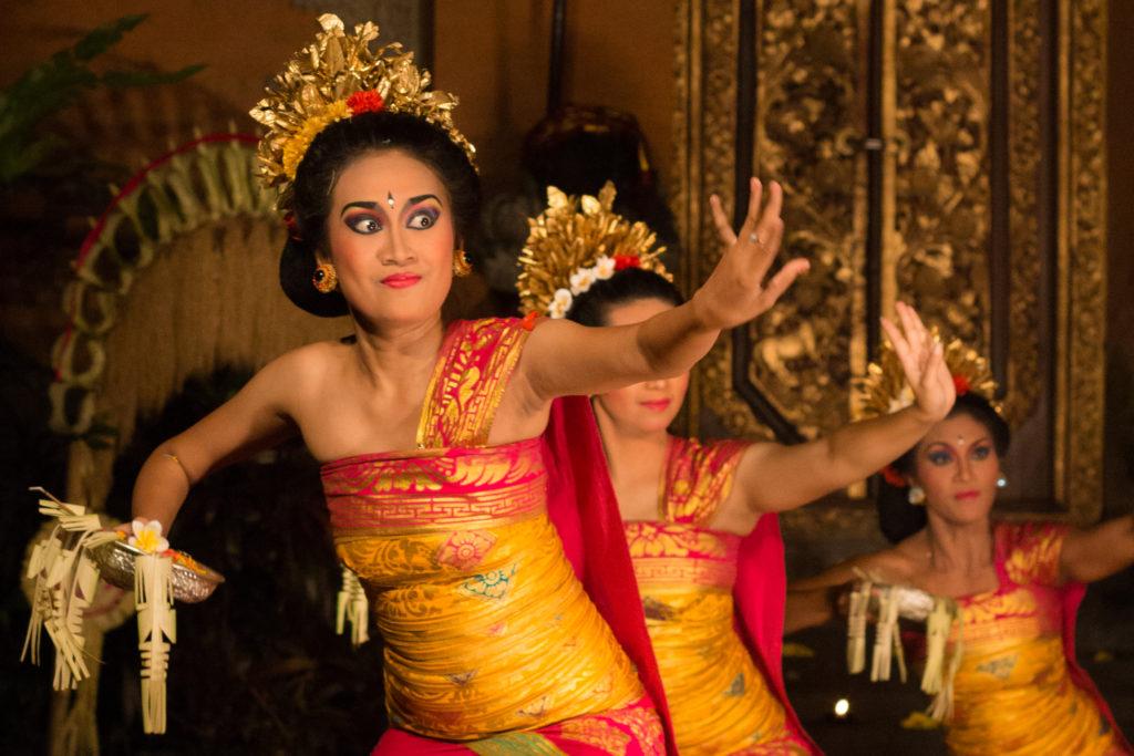 Danse balinaise à Ubud