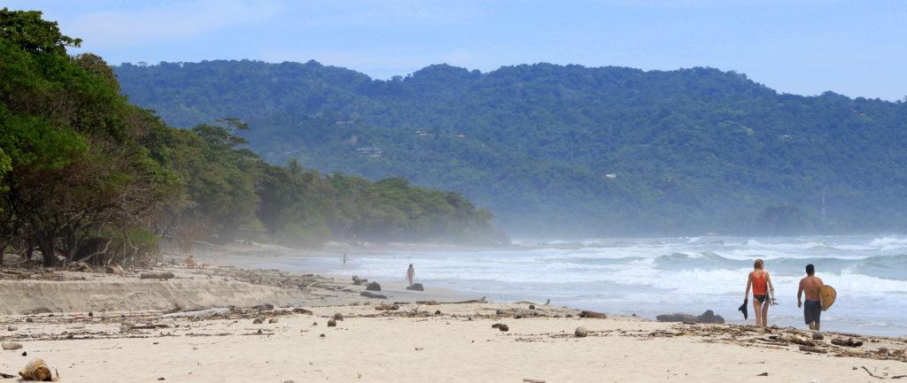 Plage de Santa Teresa, Péninsule de Nicoya, Côte Pacifique, Costa Rica