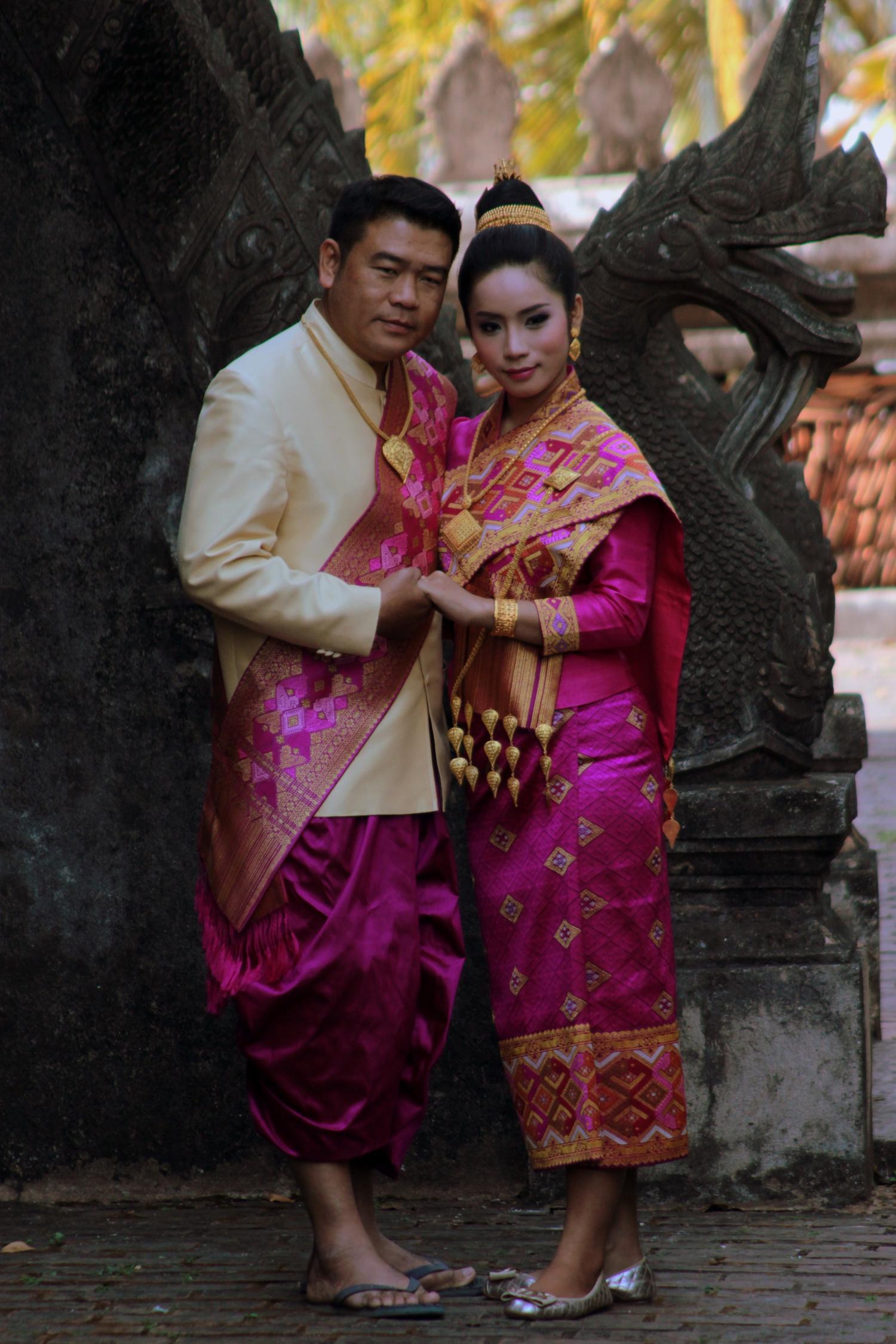 Séance photo de mariage à Vientiane, Laos