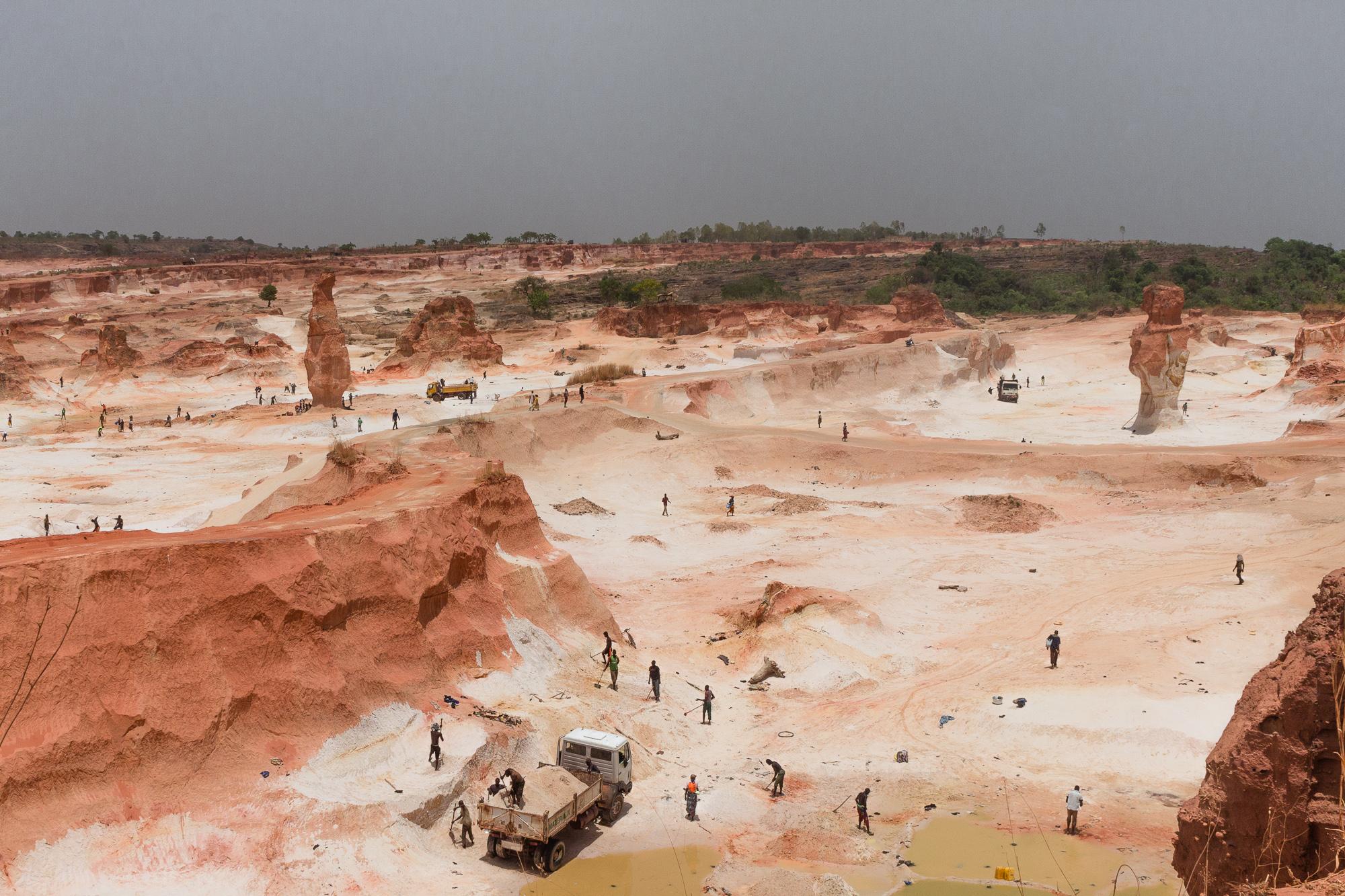 Carrière de pierre, Burkina Faso