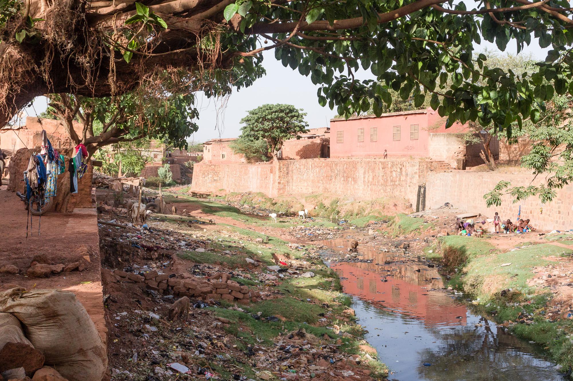 Rivière sacrée du Vieux Bobo, Bobo Dioulasso, Burkina Faso