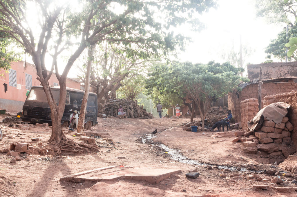 Rue du Vieux Bobo, Bobo Dioulasso, Burkina Faso