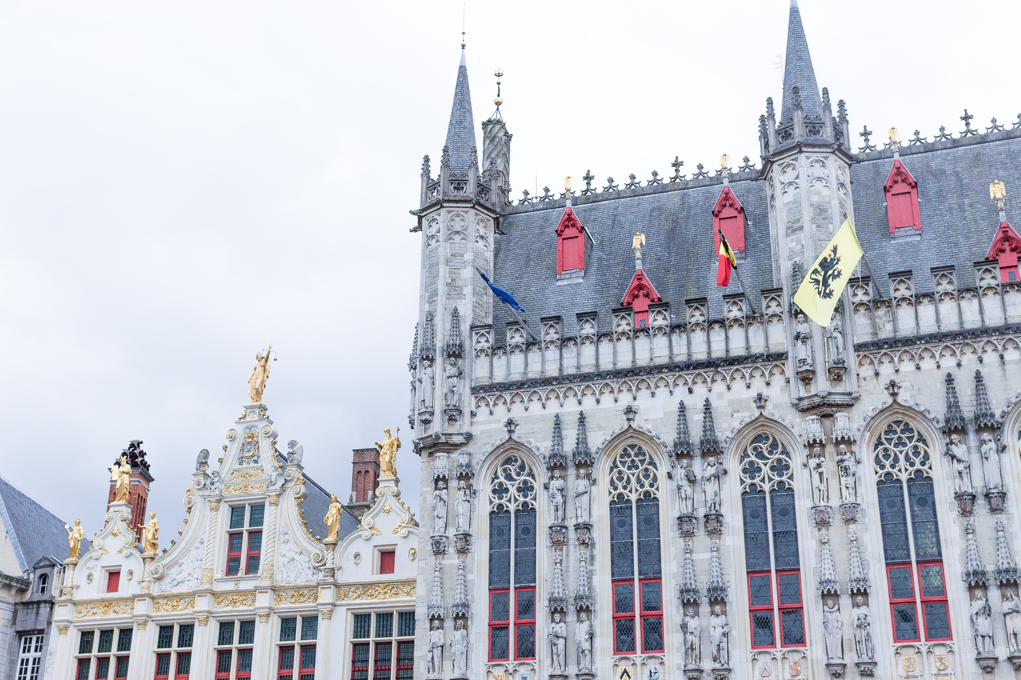 Hôtel de ville de Bruges, Belgique
