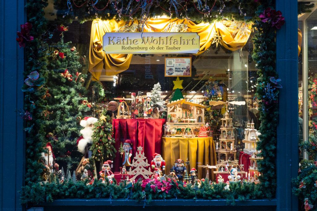 Vitrine de Noël, Bruges, Belgique