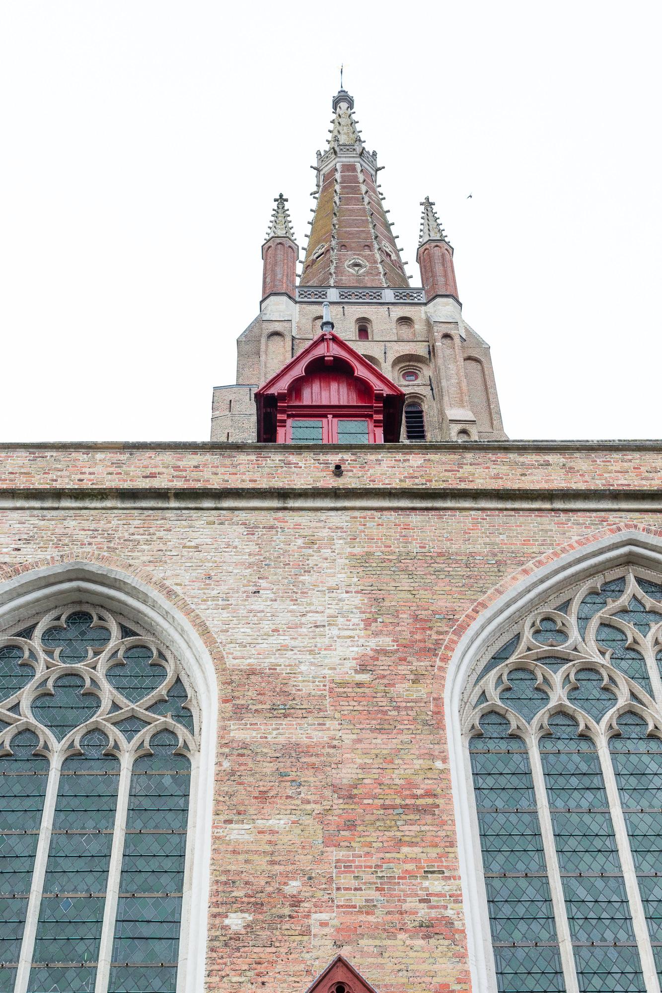 Église Notre-Dame de Bruges, Belgique