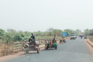circulation au Burkina Faso