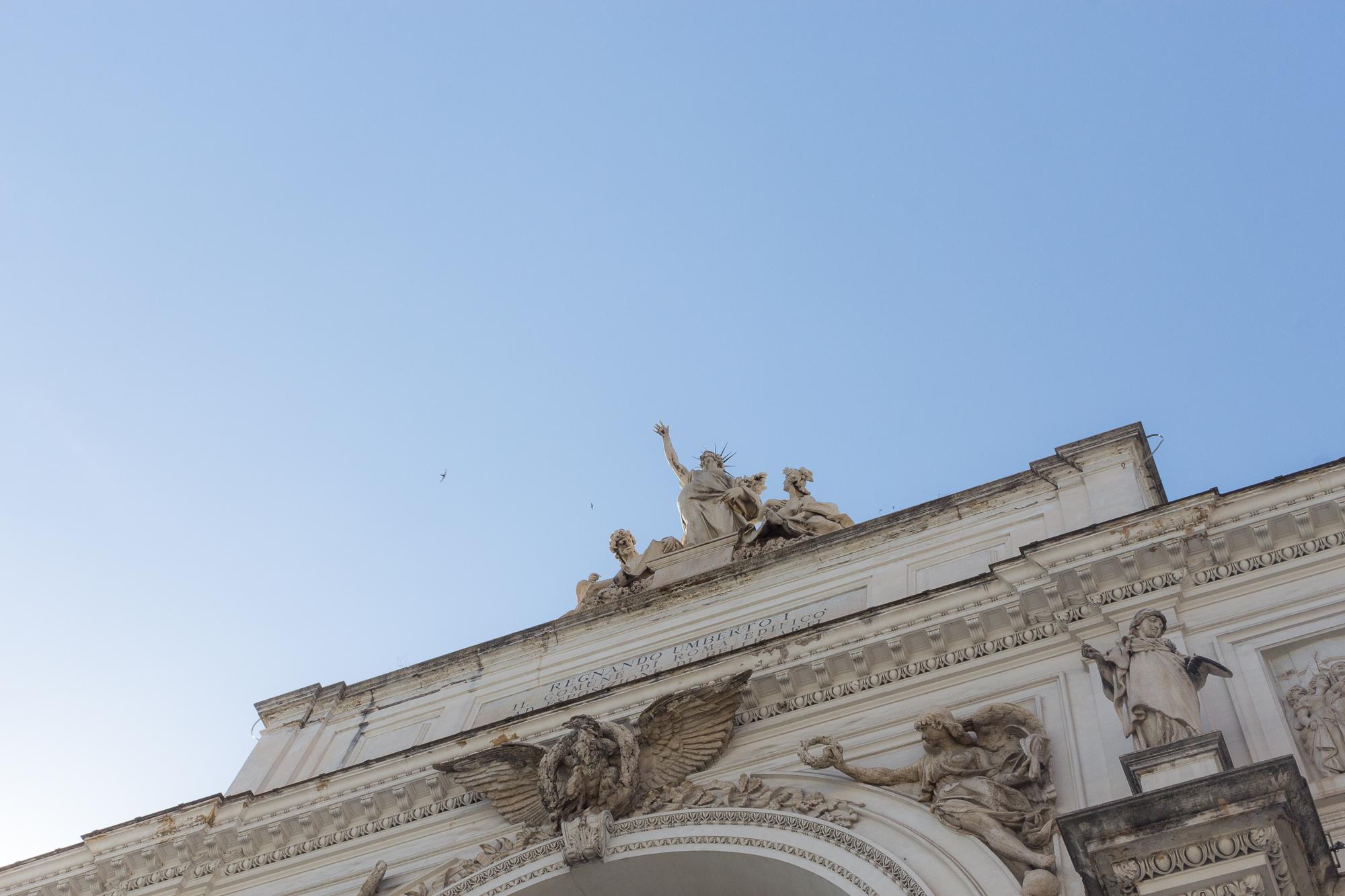 Monument à Umberto I, Rome, Italie