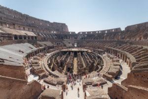 Ruines du Colisée, Rome, Italie