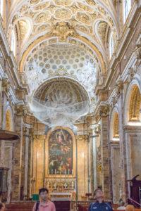 Voûte de l'Église Saint Louis des Français, Rome, Italie