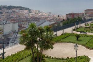 Mirador São Pedro de Alcântara, Lisbonne, Portugal