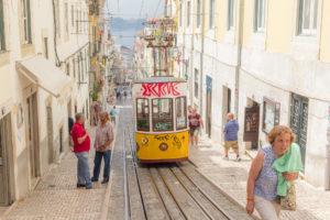 Funiculaire de Bica, Lisbonne, Portugal
