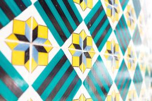 Azulejos géométriques, Lisbonne, Portugal