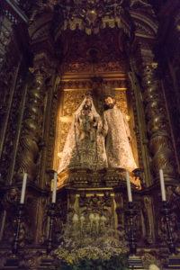 sculptures église Santa Maria, monastère des Hiéronymites, Belém, Lisbonne, Portugal