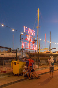 It was all a dream, festival Nos Alive, Lisbonne, Portugal