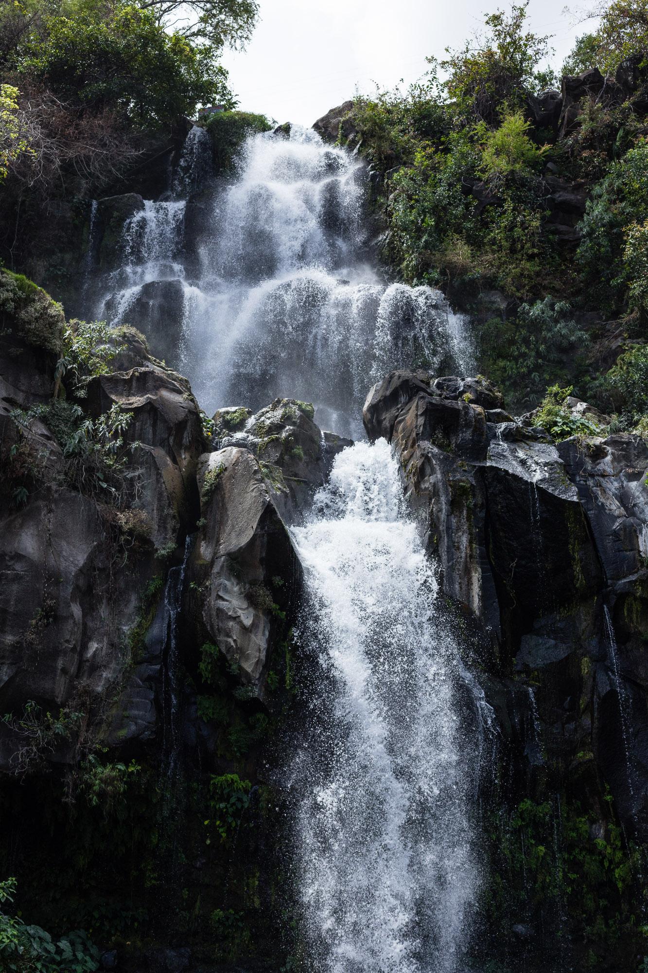 Cascade des Aigrettes, 3 bassins, La Reunion