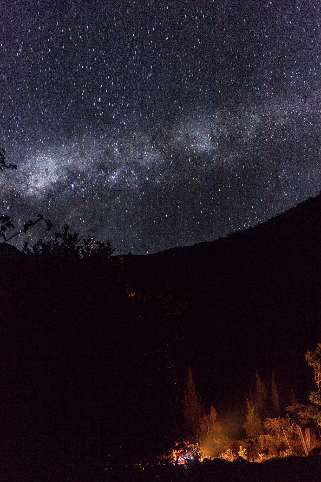 Nuit étoilée mafate