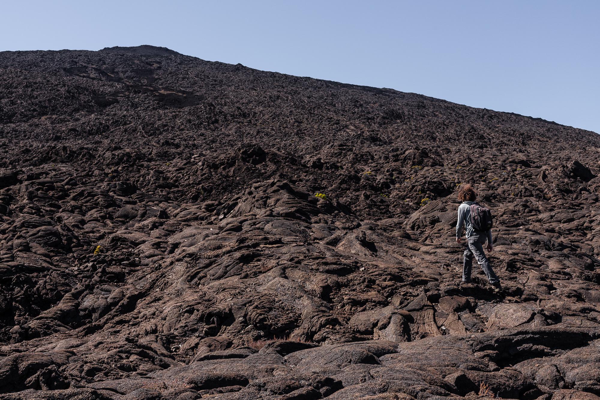 ascension cratère dolomieux piton de la fournaise