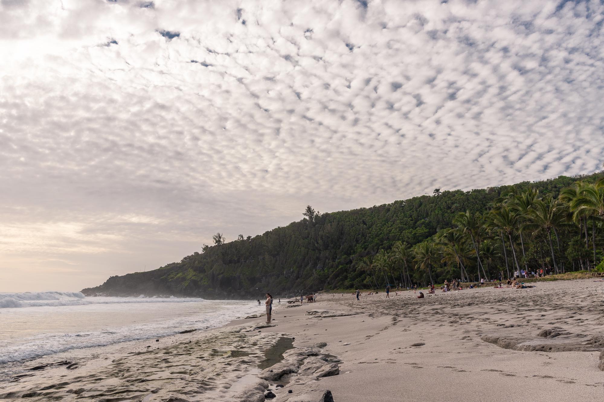 plage grande anse la réunion