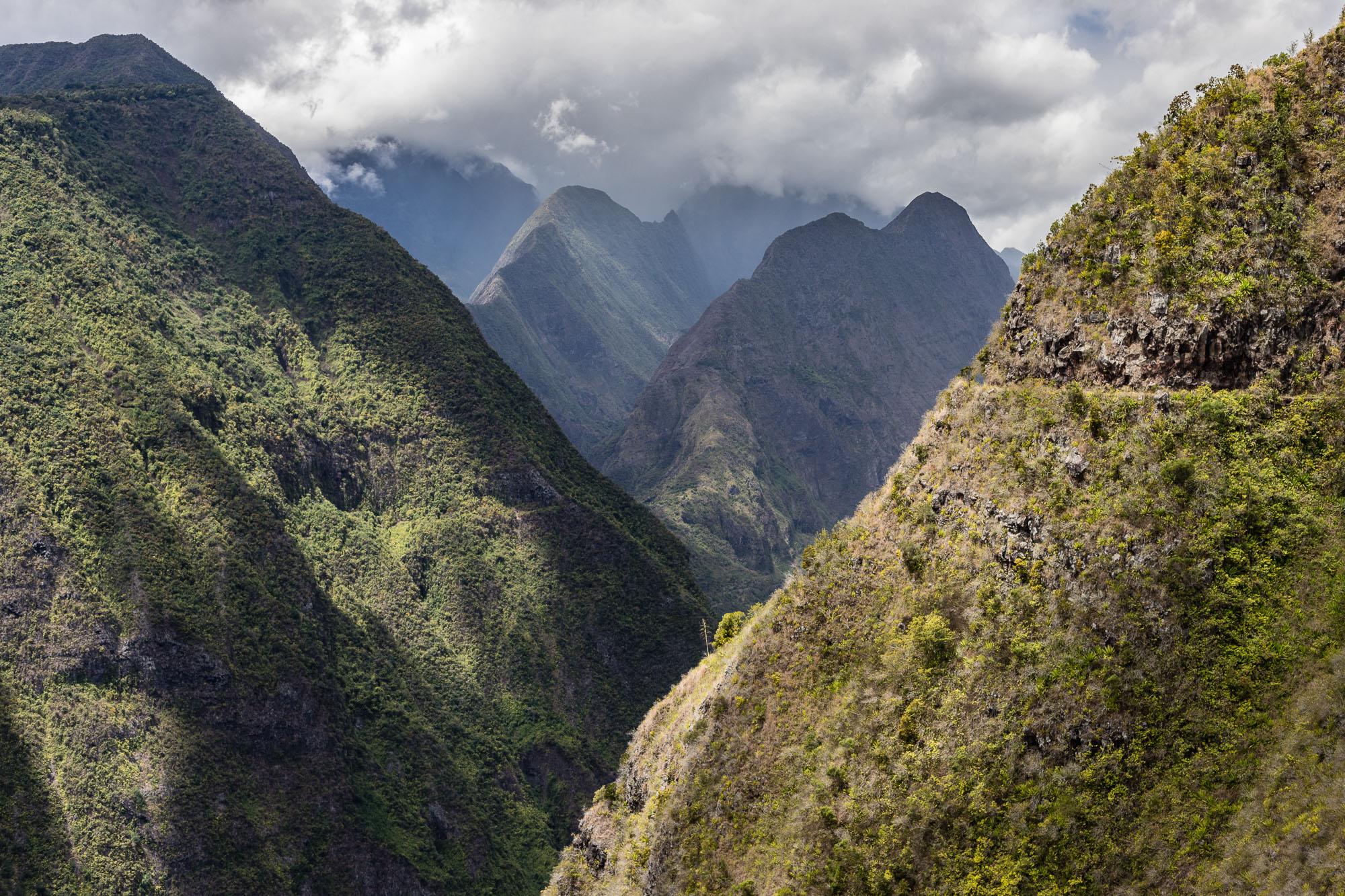 Montgnes et pitons de Mafate, La Réunion