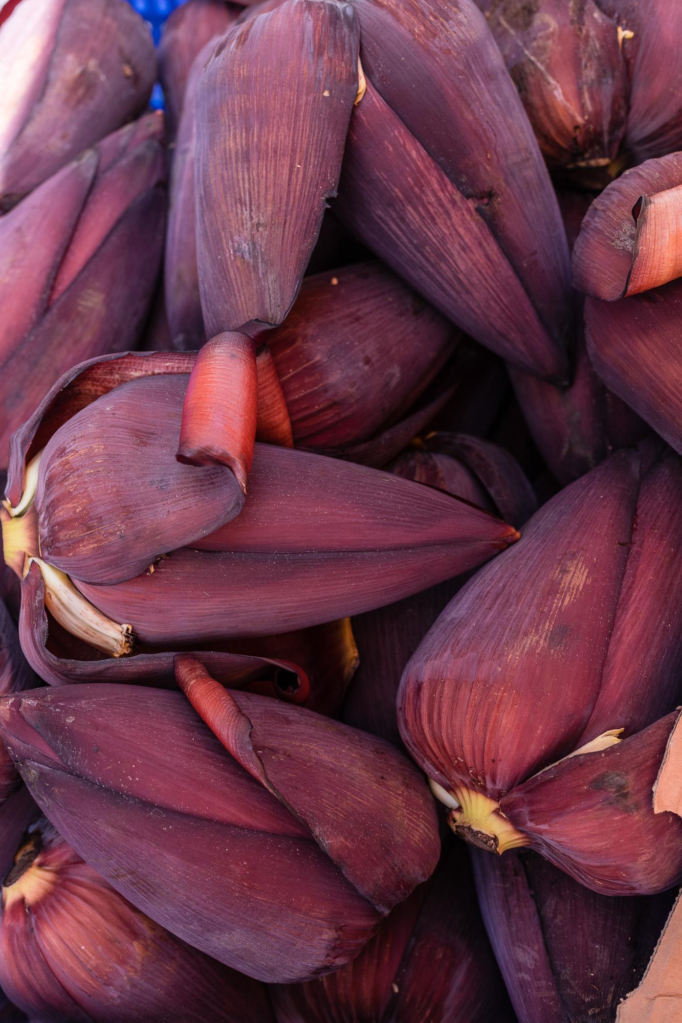 fleur de bananier marché de saint pierre