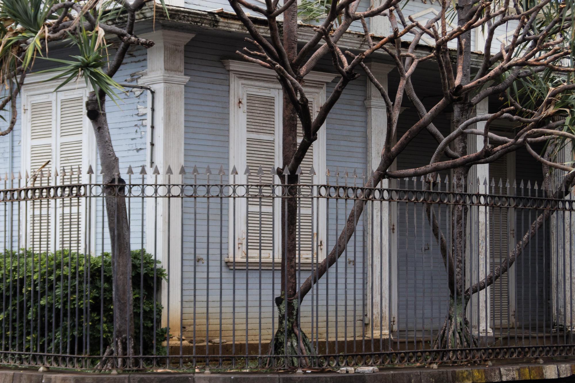 case créole bleue rue de paris saint denis reunion