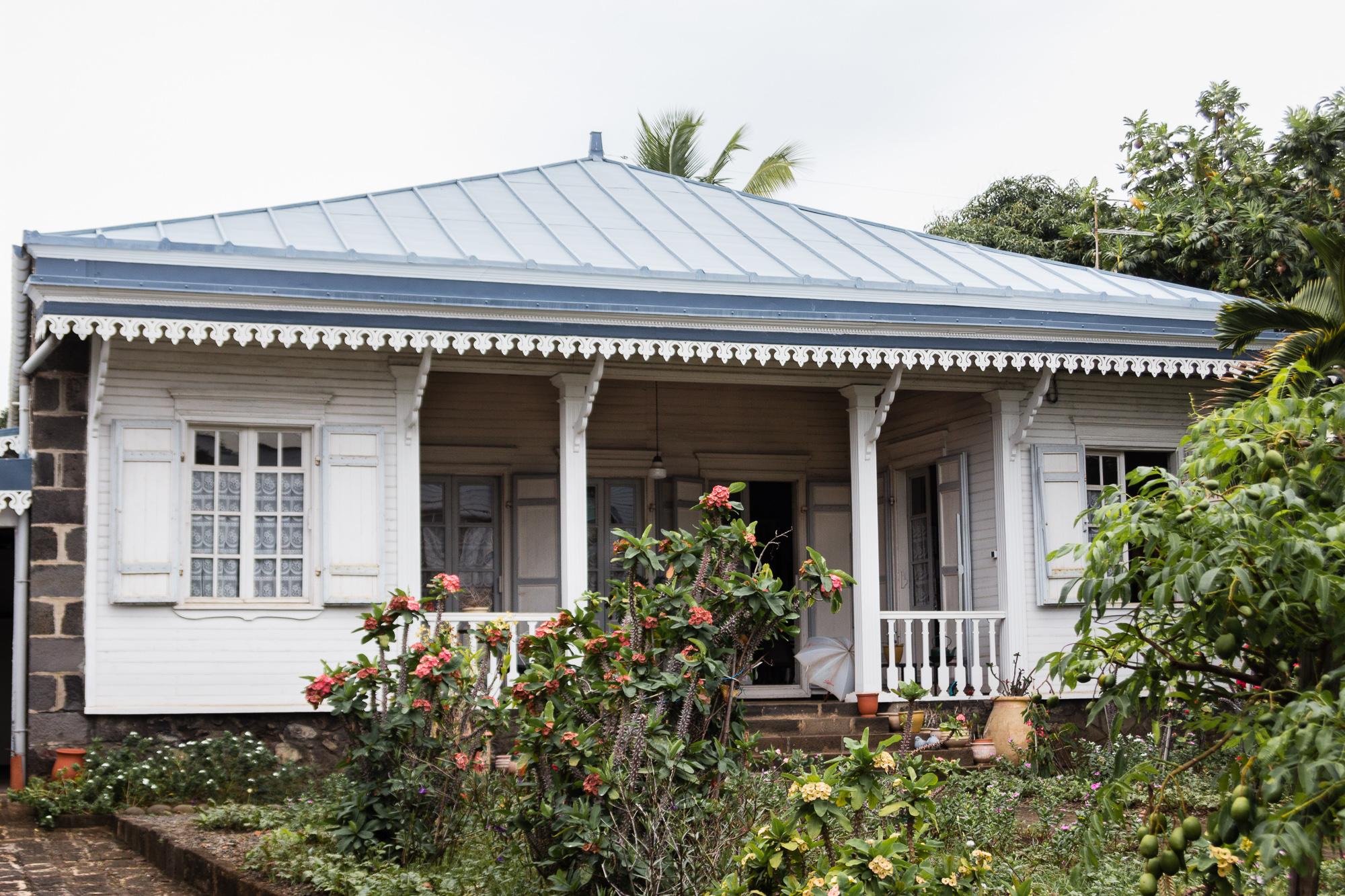 case créole et jardin tropical saint denis réunion