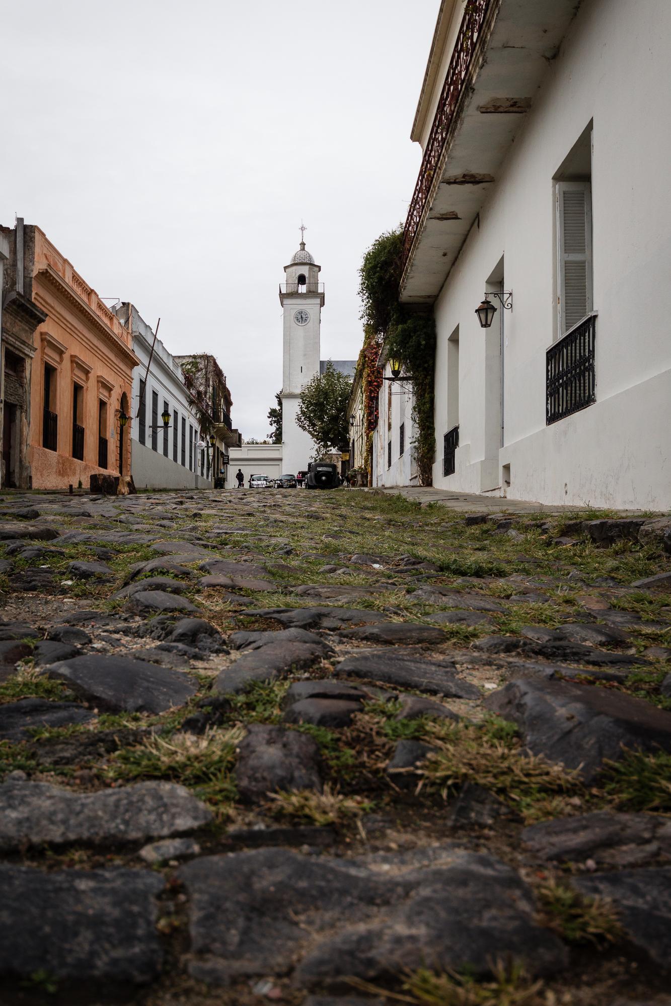 rue pavée colonia el sacramento