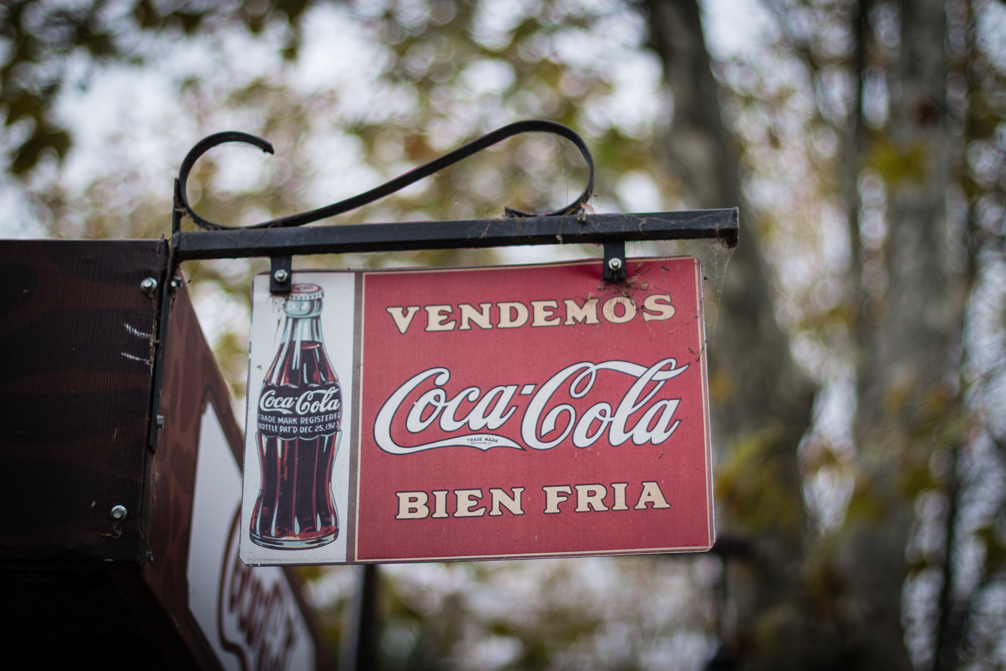 panneau coca cola vintage