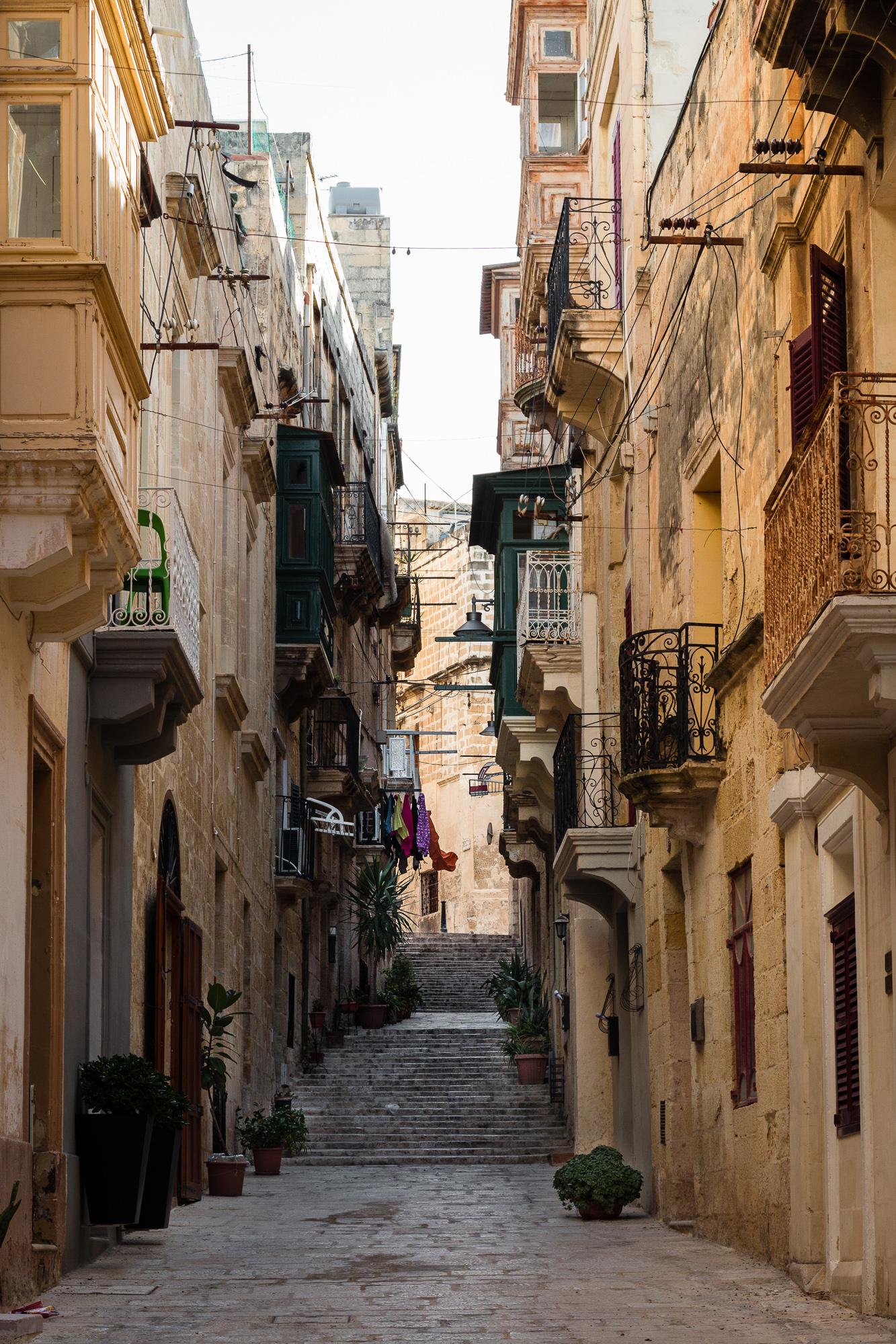 ruelle escaliers 3 cités malte