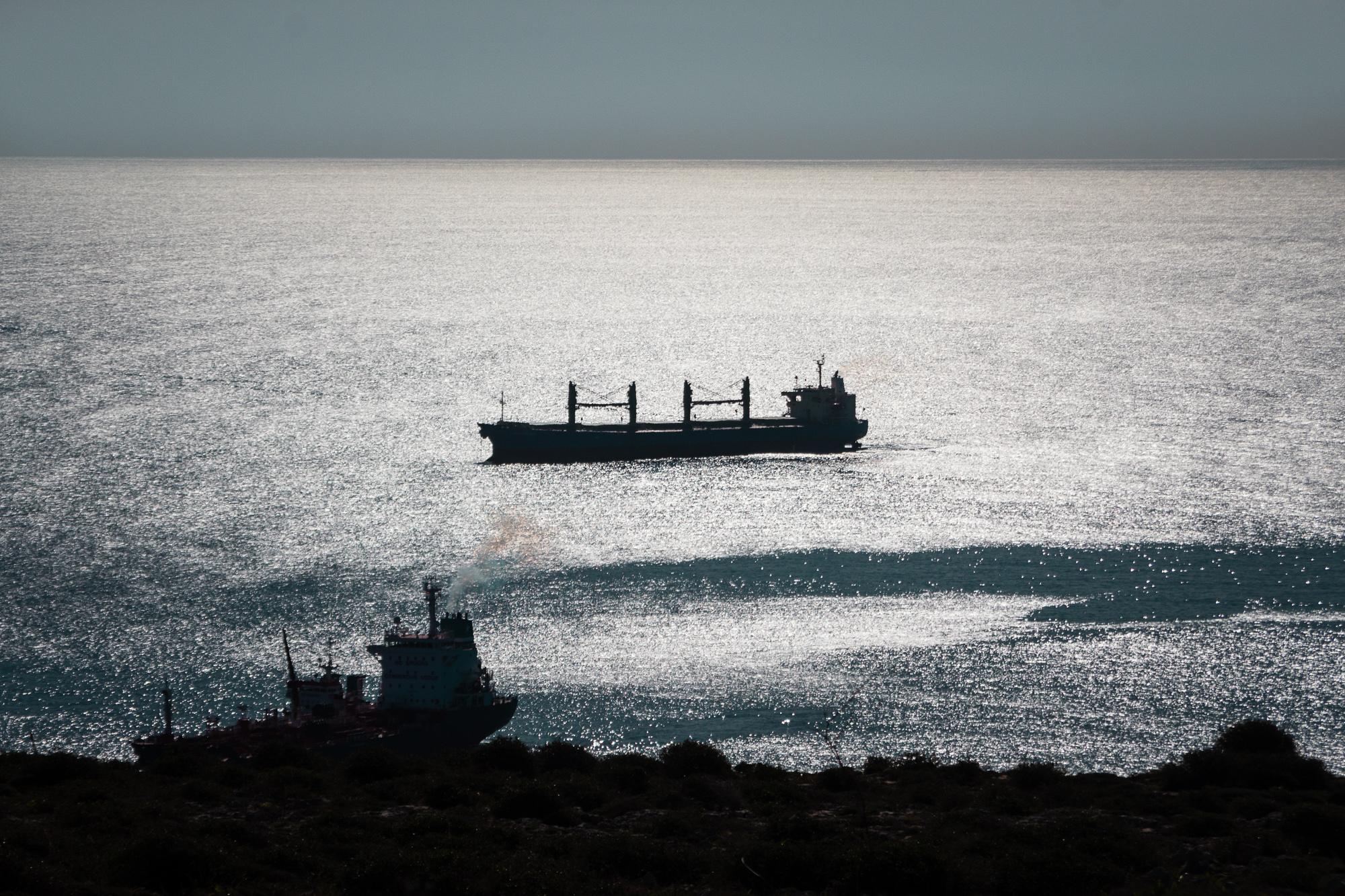 ferries au large de Malte